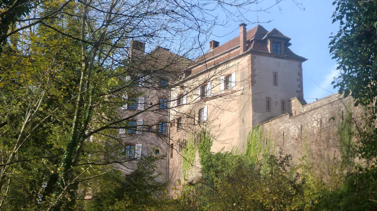 Le château de La Petite Pierre, également appelé Lützelstein, ainsi ses remparts datent du XIII e siècle. Il ont cependant été intégré dans la forteresse de Vauban en 1684.