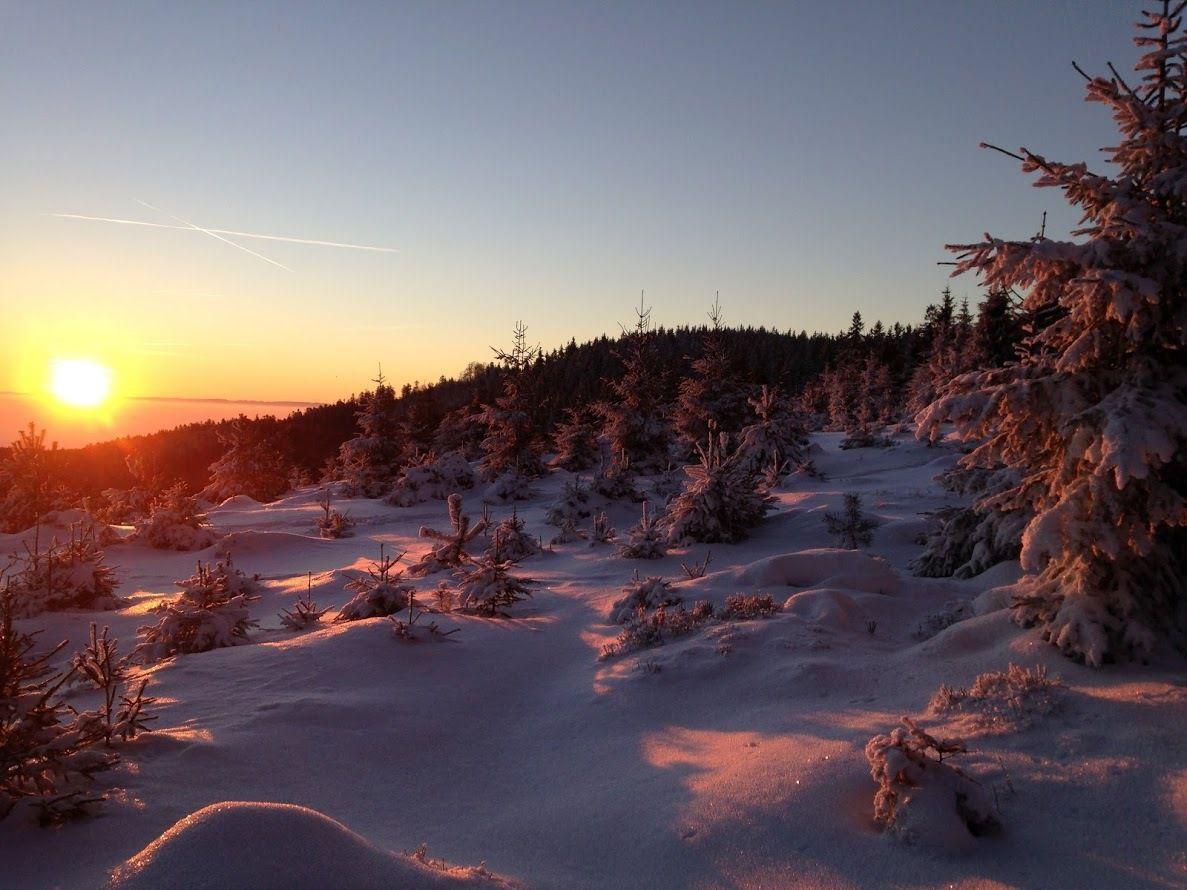 Splendeur paradisiaque sur le massif du Schneeberg. (Photo : Frédéric M.)