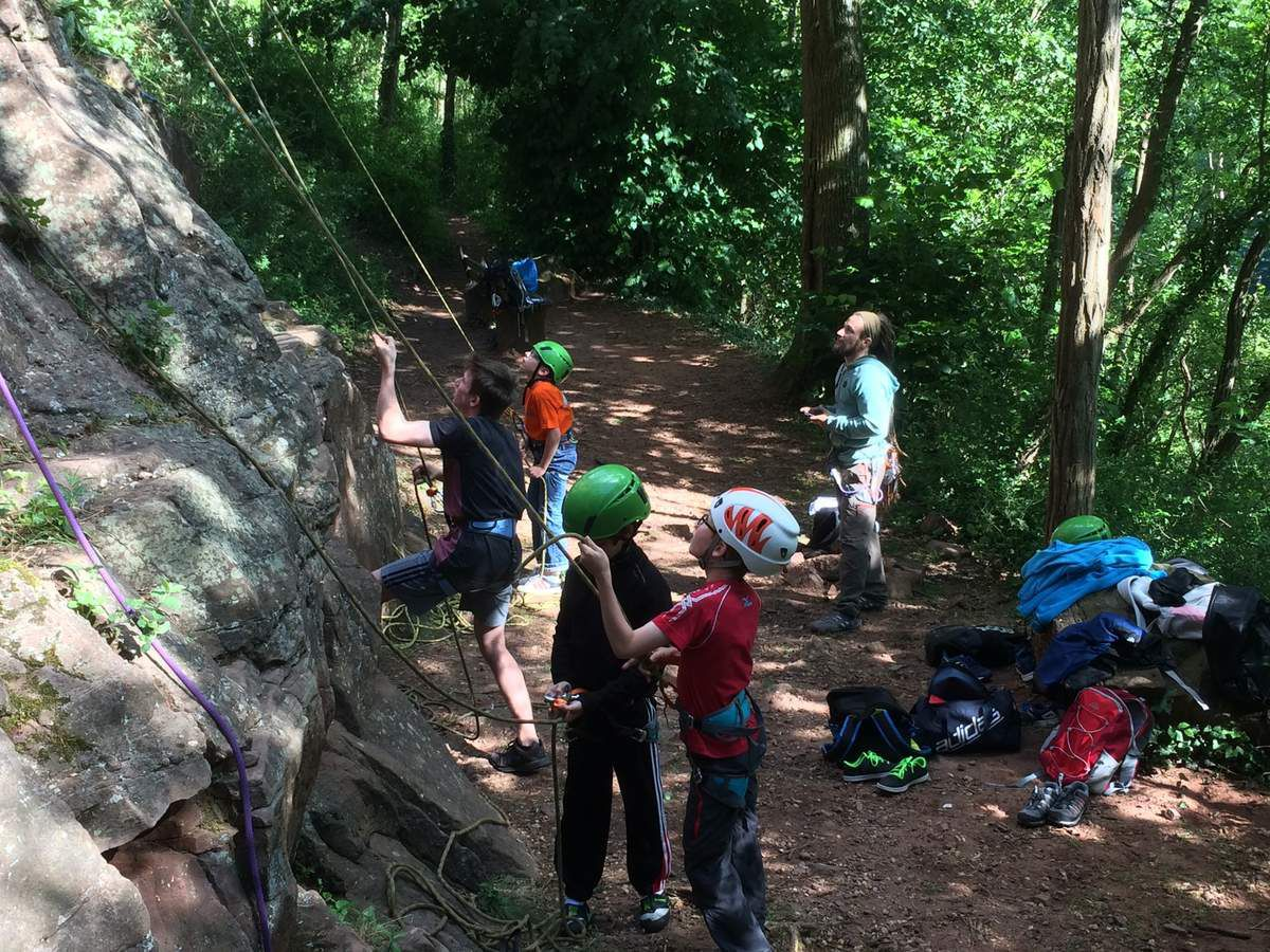 Sorties en falaise de l'école d'escalade - WASCALADE - JUIN 2017