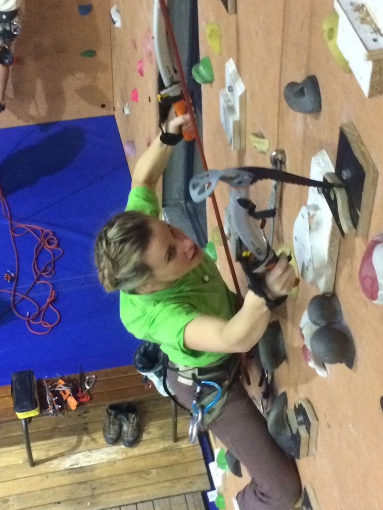 Initiation au Dry -Tooling - Cairns67 - Wascalade - 11/12/2017