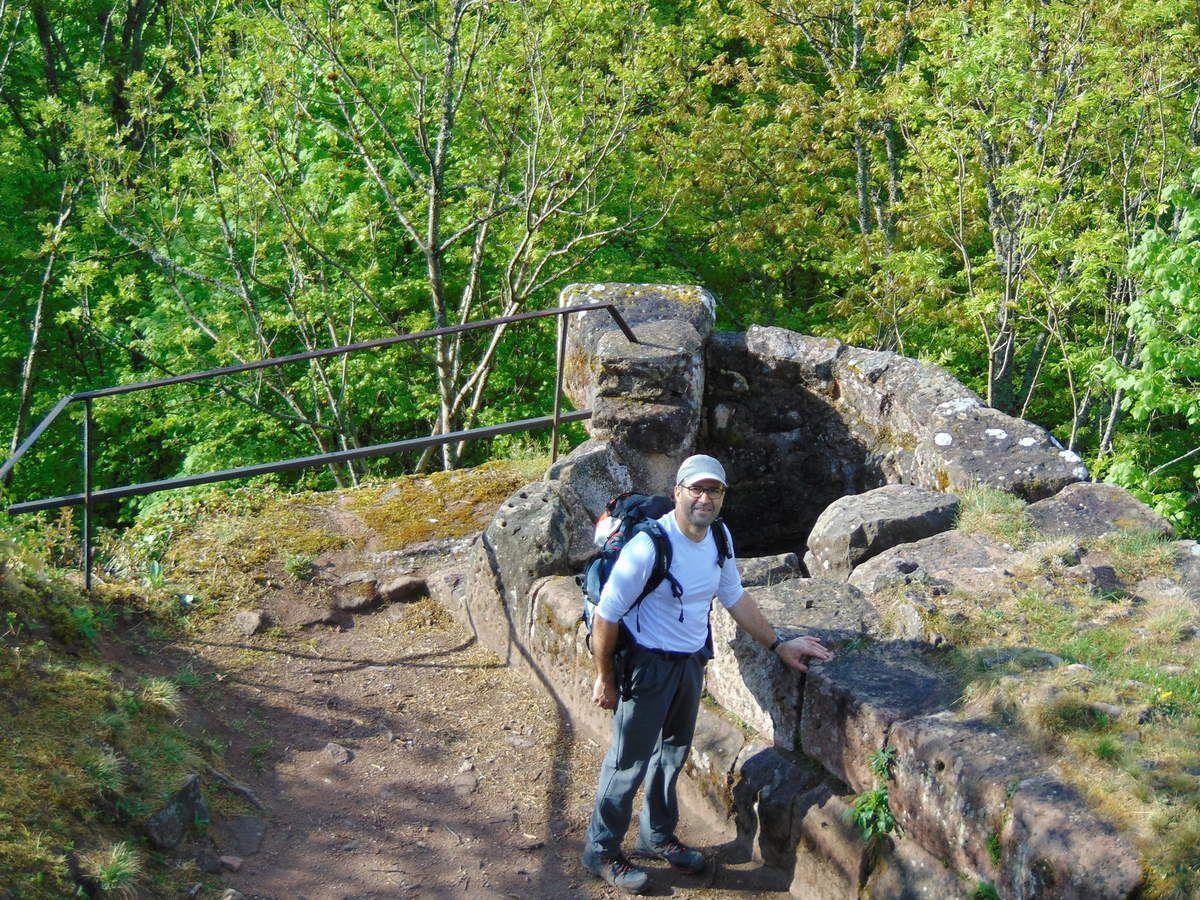 Escapade en terre volcanique - Nideck( 534m) et Hirschfels (545m) - 29/04/2018