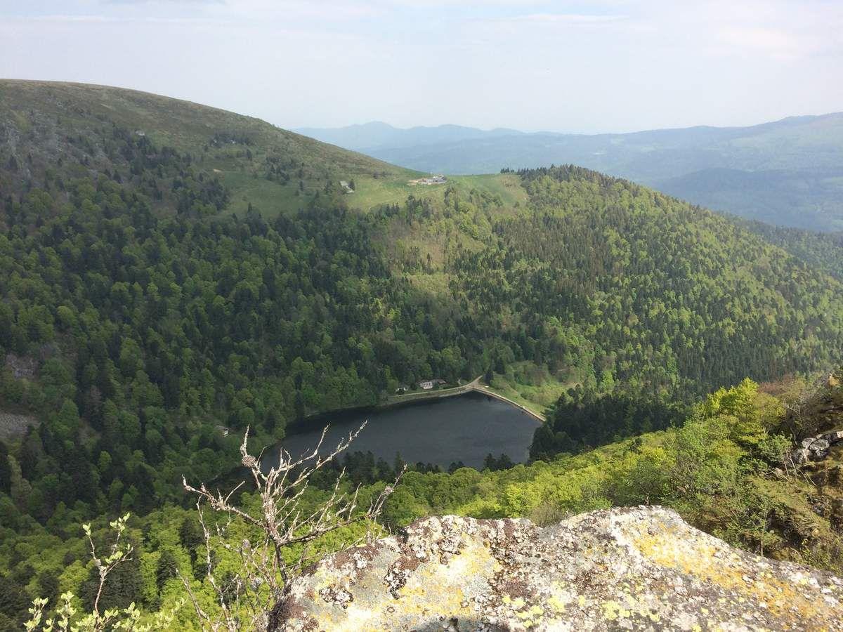 Le lac de Schiessrothried (930m).