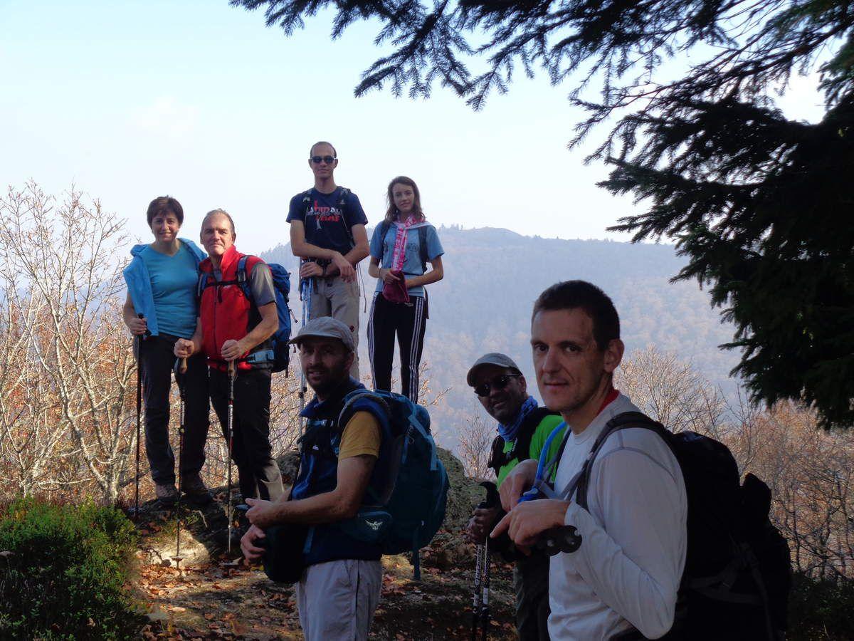 Une superbe randonnée n'est rien sans un super groupe...