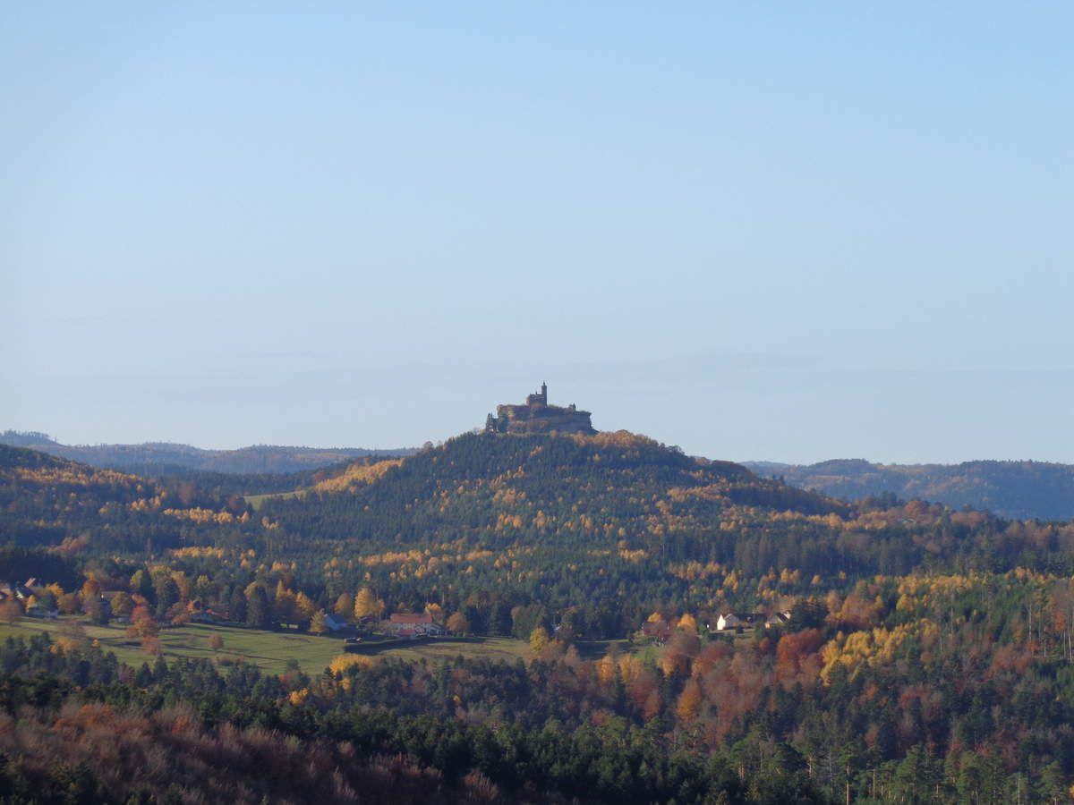 impressionnant vaisseau de grès sur le Schlossberg