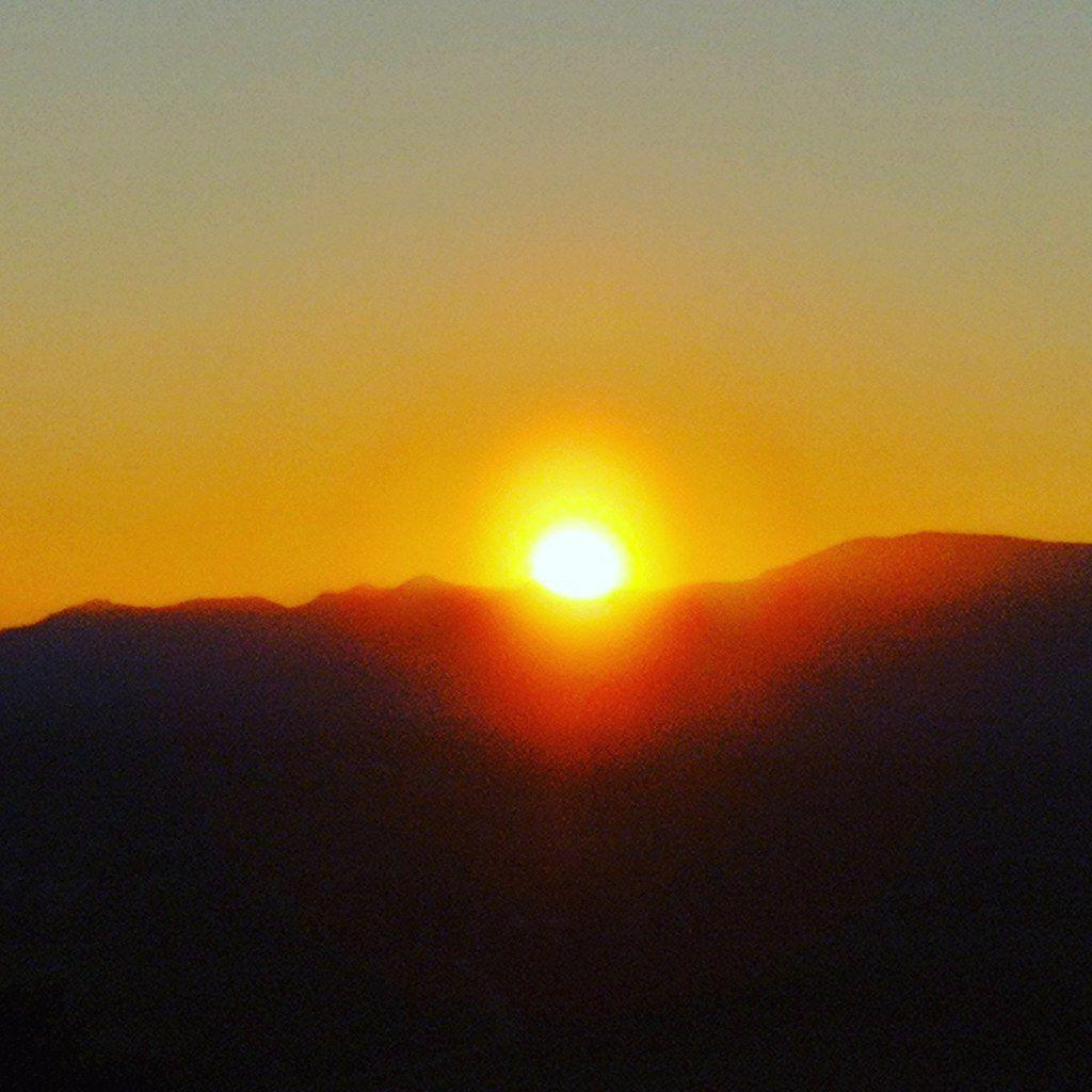 Coucher du Soleil sur le massif du Donon - 24/02/2019