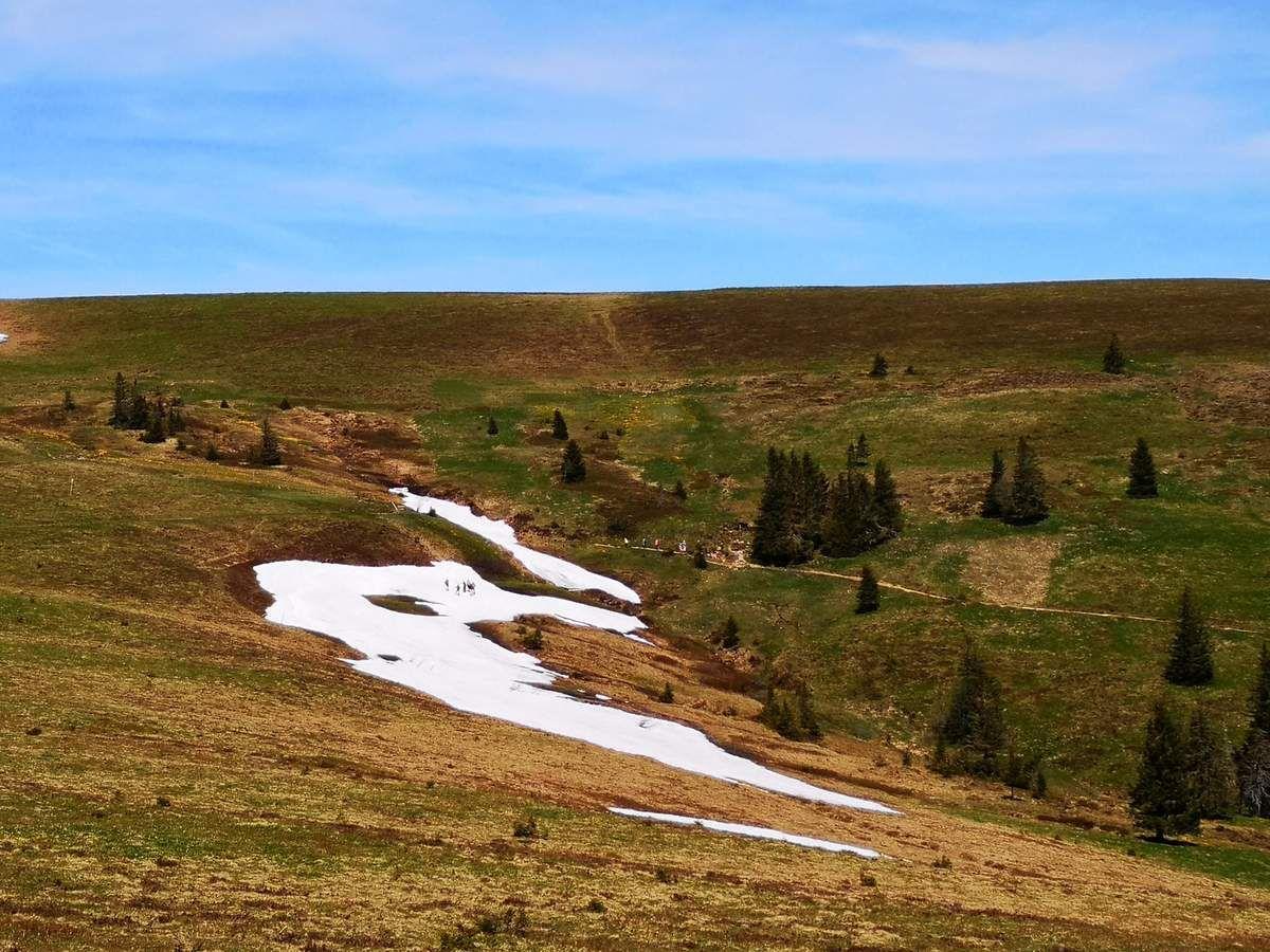 C'est dans cette belle combe, traversée par le Emil Thoma Weg, que prend naissance le Seebach qui alimente le lac glaciaire situé en contrebas (le Feldsee).