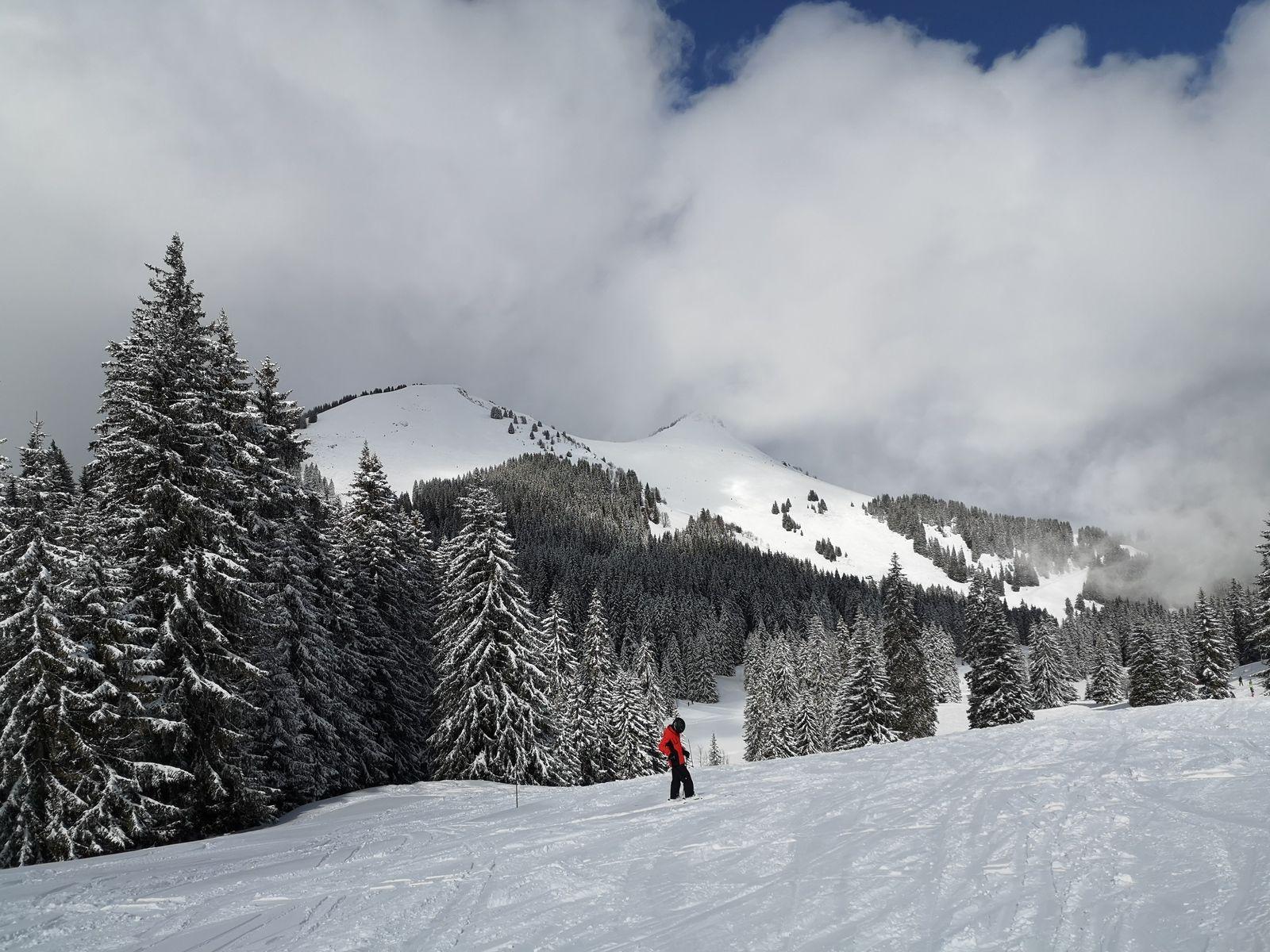 L'ambiance est déjà plus appropriée pour des vacances de sports d'hiver.
