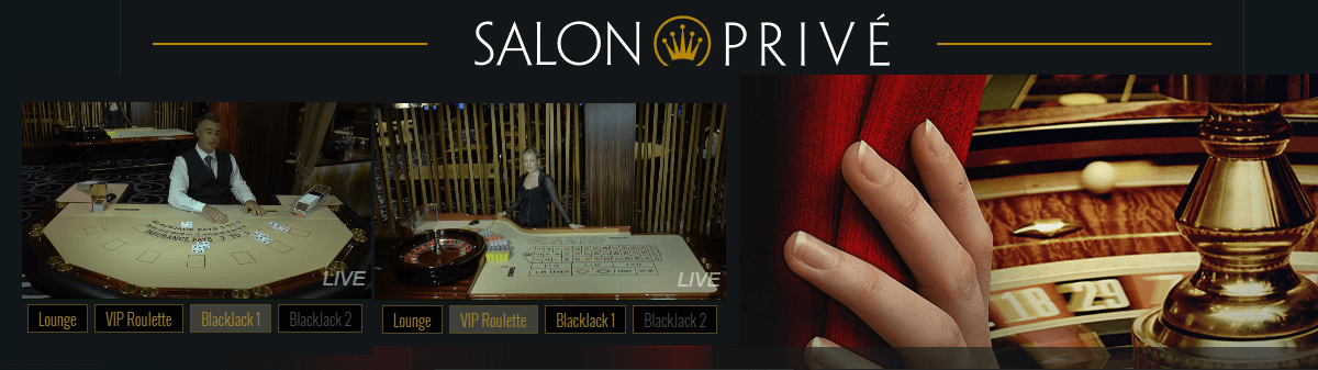 Salon Privé Evolution Gaming