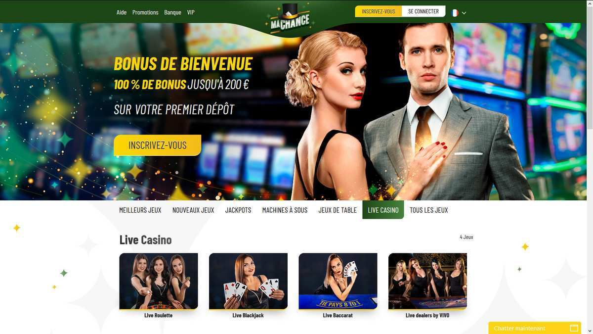 casino en direct Ma Chance