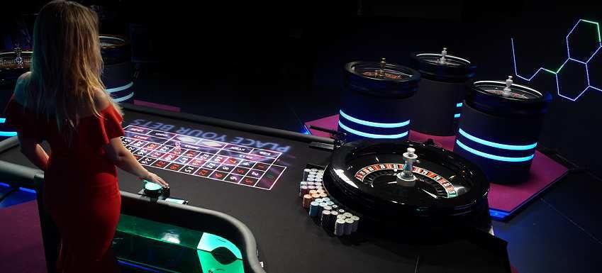 jeu live Blaze Roulette par Authentic Gaming