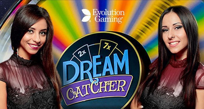 jeu de casino en ligne avec croupiers en direct Dream Catcher de Evolution Gaming
