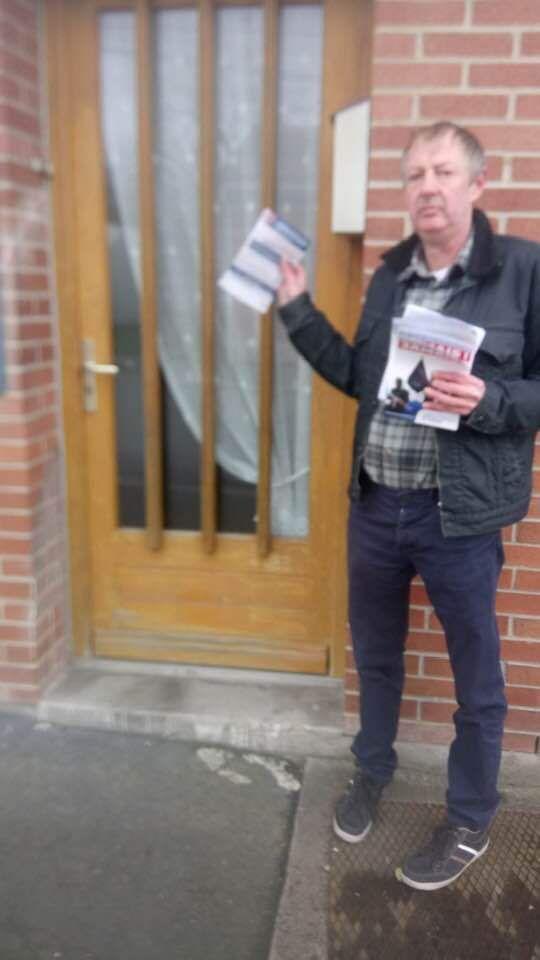 Distribution de tracts sur Arras, ce samedi : Non au retour des djihadistes !