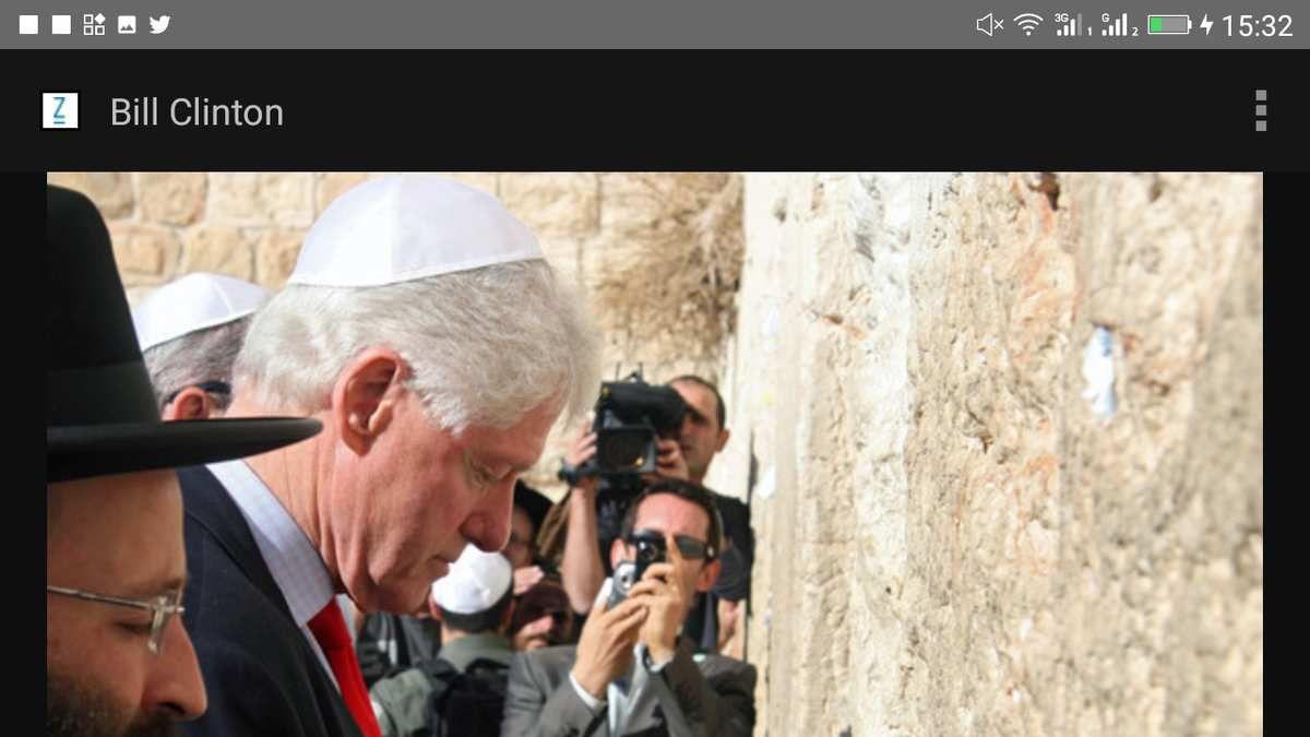Bill Clinton ex-président des États-Unis