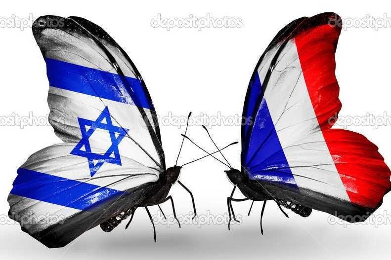 La France dans les bras des sionistes