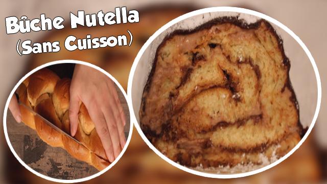Recette Rapide de la Bûche au Nutella Sans Cuisson !