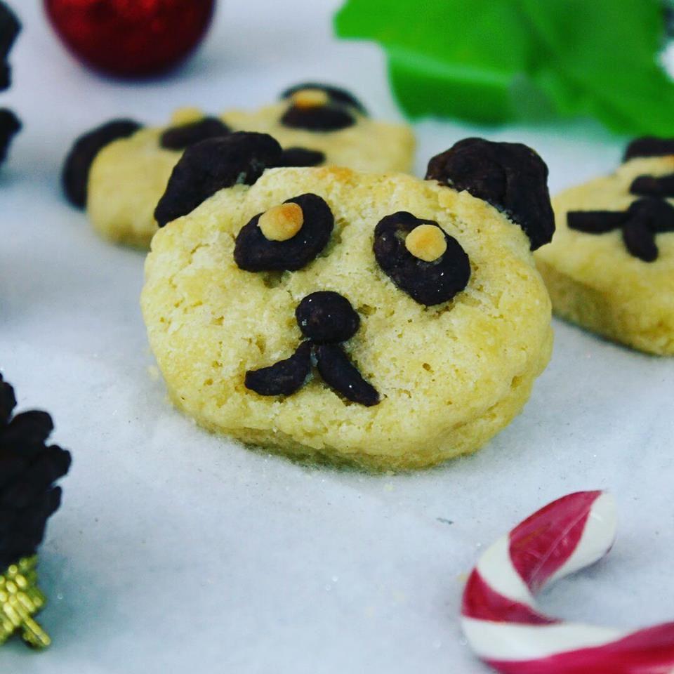 Recette des Sablés de Noël façon Panda !