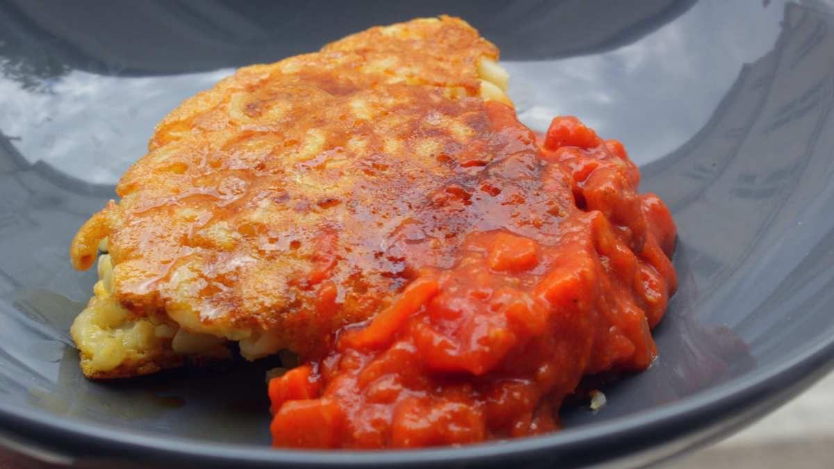 Recette d'Omelette à la napolitaine