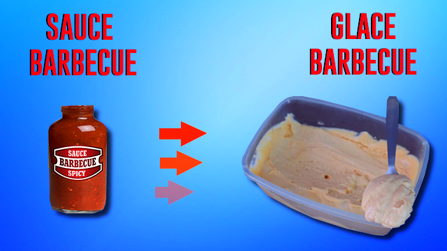 RECETTE GLACE SAUCE BARBECUE !