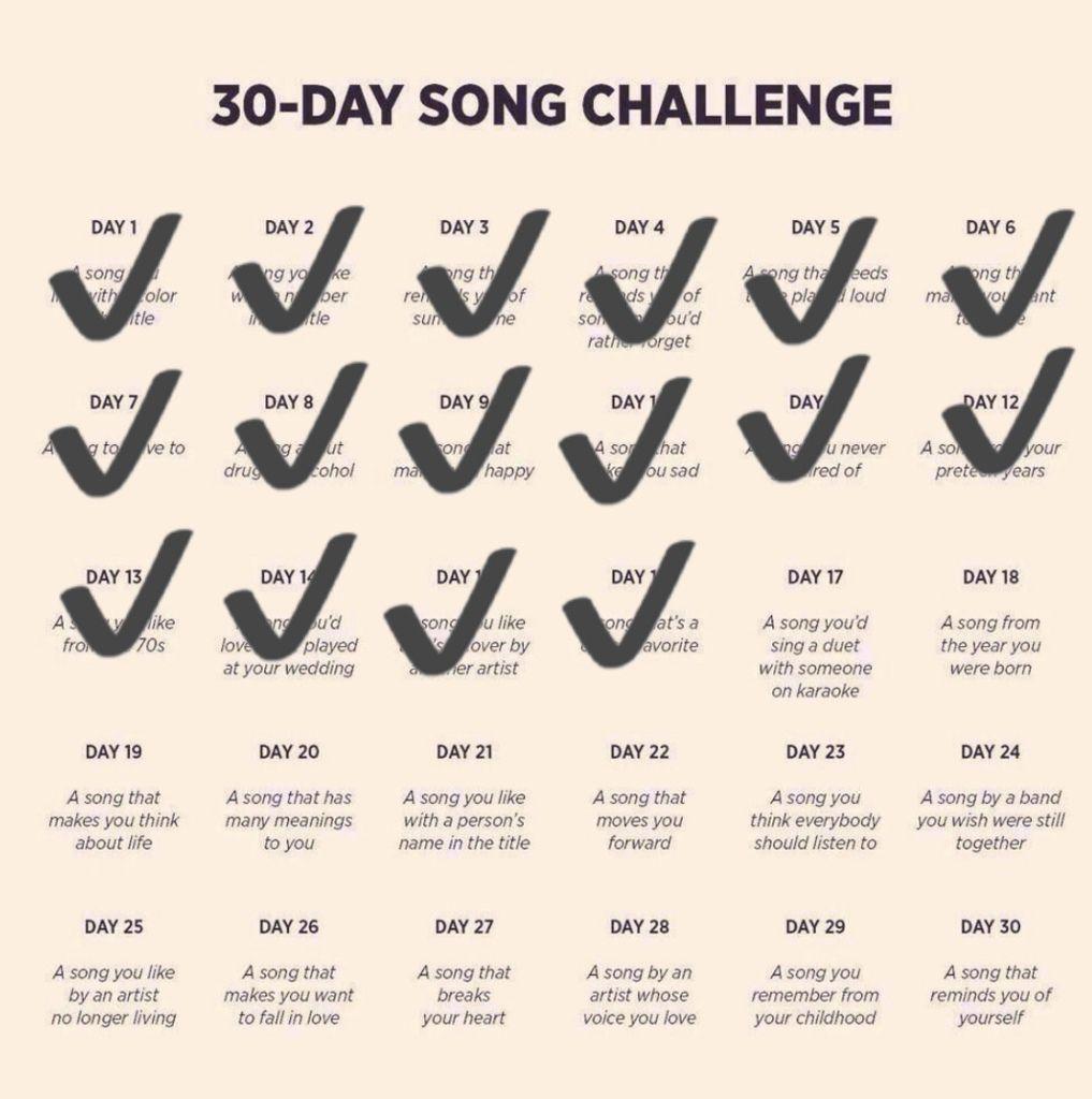 DEFI 30 jours de chansons francophones - Jour 17