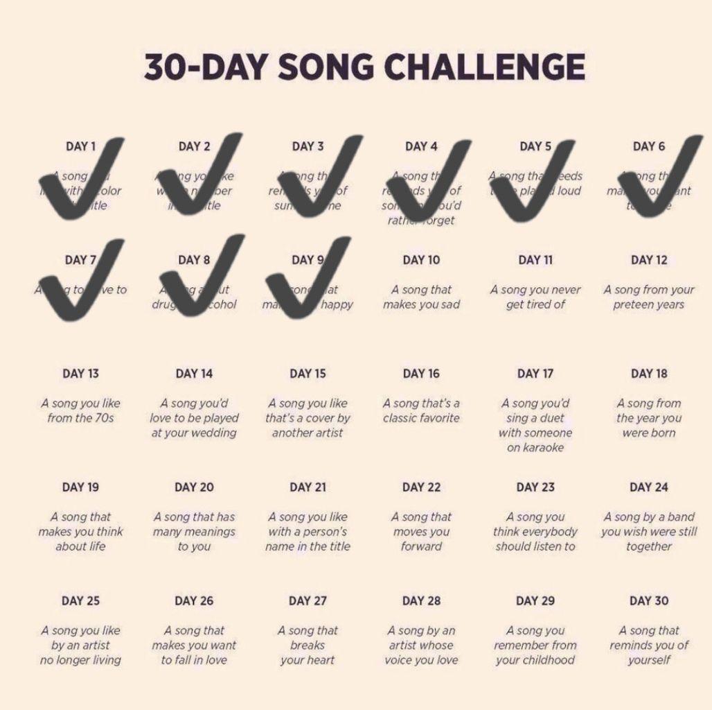 DEFI 30 jours de chansons francophones - Jour 10