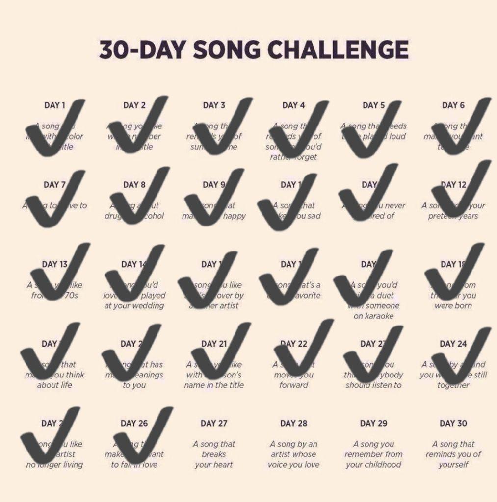 DEFI 30 jours de chansons internationales - Jour 27