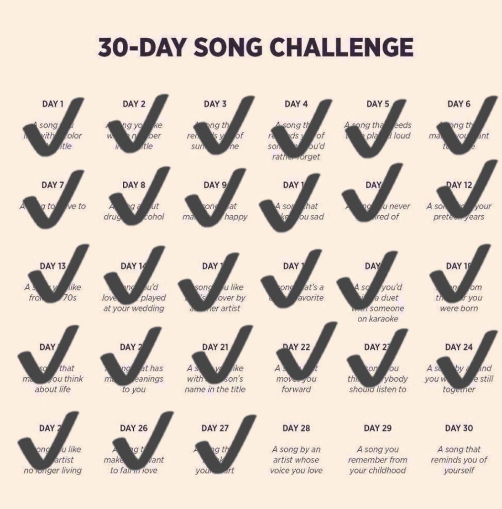 DEFI 30 jours de chansons francophones - Jour 28