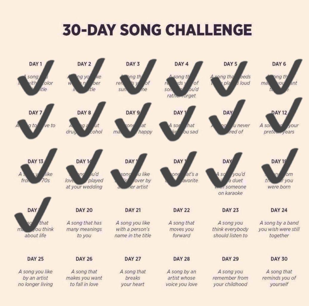 DEFI 30 jours de chansons francophones - Jour 20