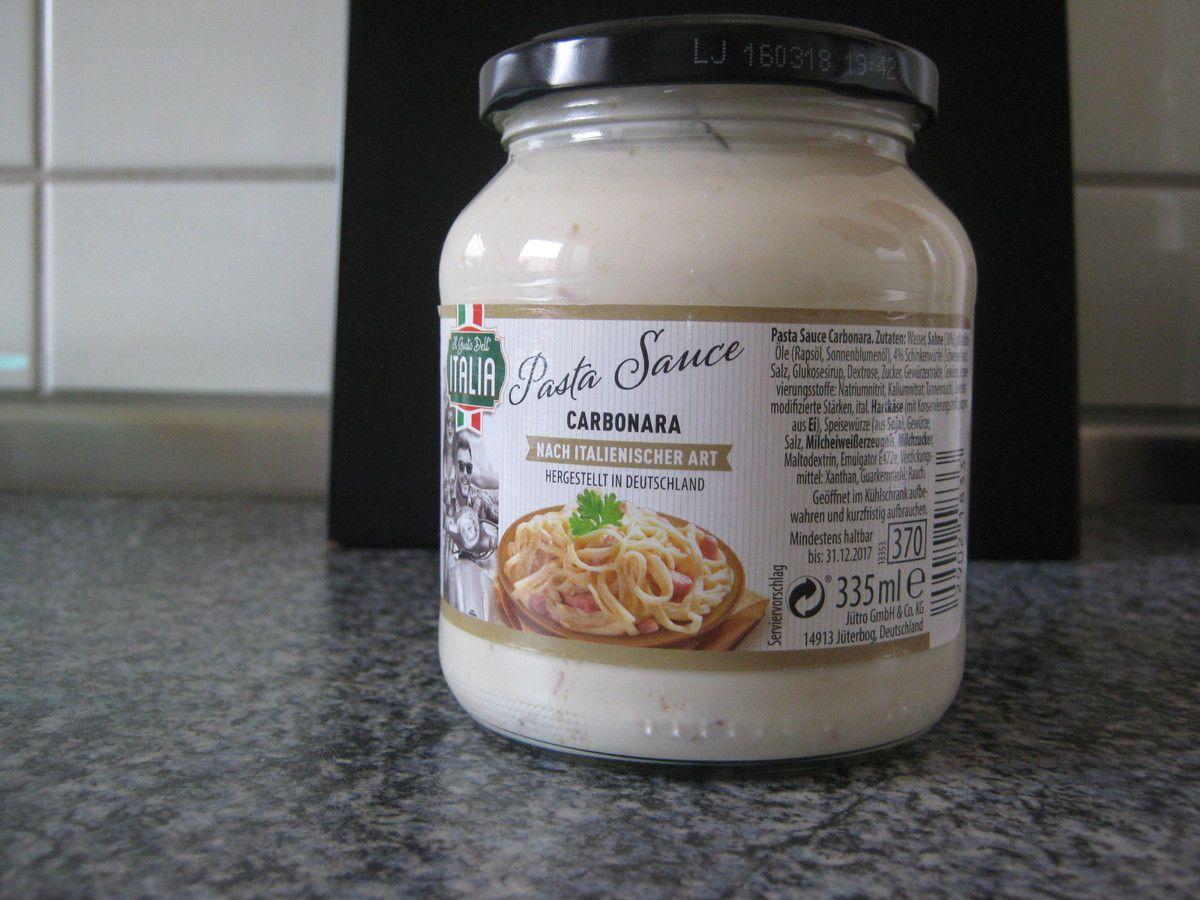 [Aldi Nord] Carbonara Sauce - Italien Woche