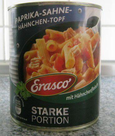 Erasco Starke Portion Paprika-Sahne-Hähnchen-Topf mit Hähnchenfleisch