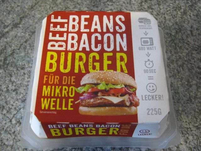 [Lidl] Beef Beans Bacon Burger