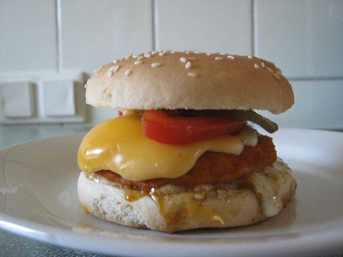 Abbelen Chickenburger - paniert mit Remouladensauce