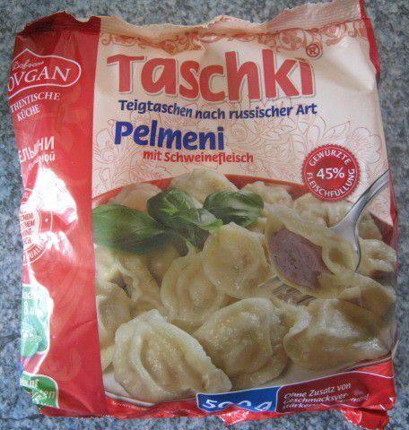Dovgan Taschki Pelmeni mit Schweinefleisch - Teigtaschen nach russischer Art