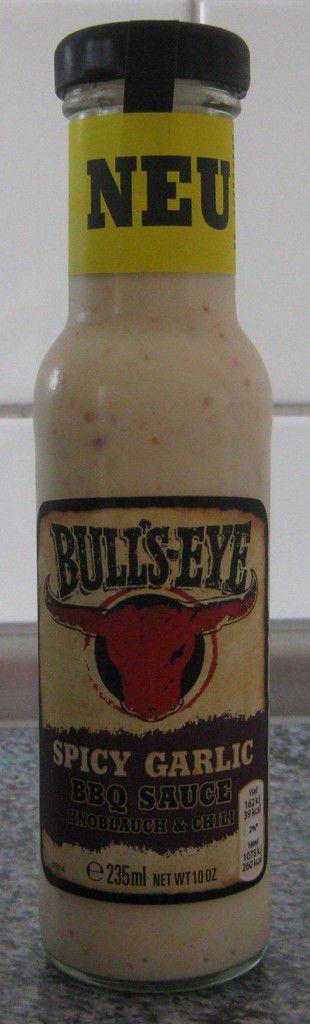 Bull's-Eye Spicy Garlic BBQ Sauce Knoblauch & Chili