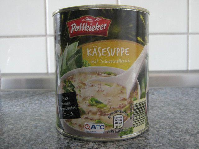 [Aldi Nord] Pottkieker Käsesuppe mit Schweinefleisch von Buss Fertiggerichte