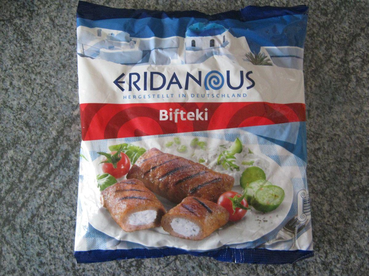 [Lidl] Eridanous Bifteki gefüllt mit Frischkäsezubereitung von der Firma Tillman's Convenience