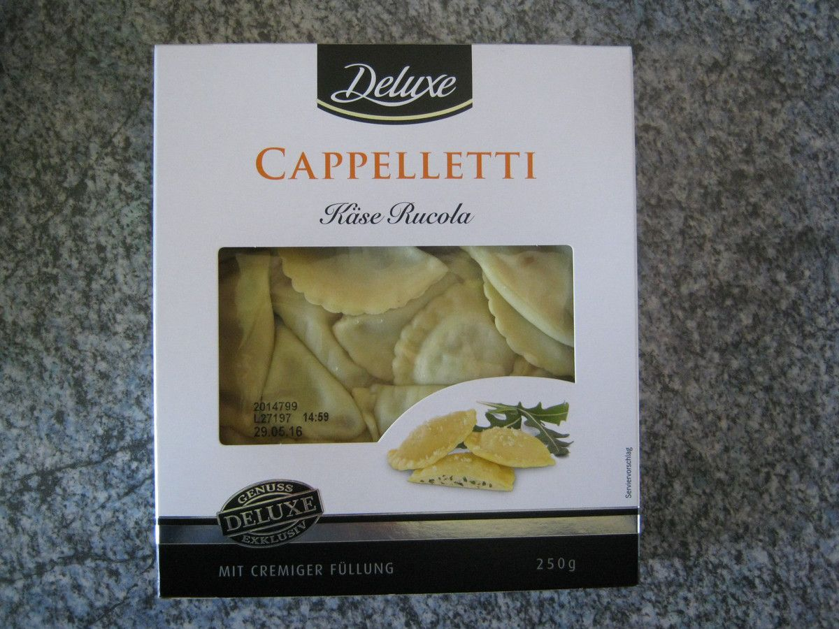 [Lidl] Deluxe Cappelletti Käse Rucola