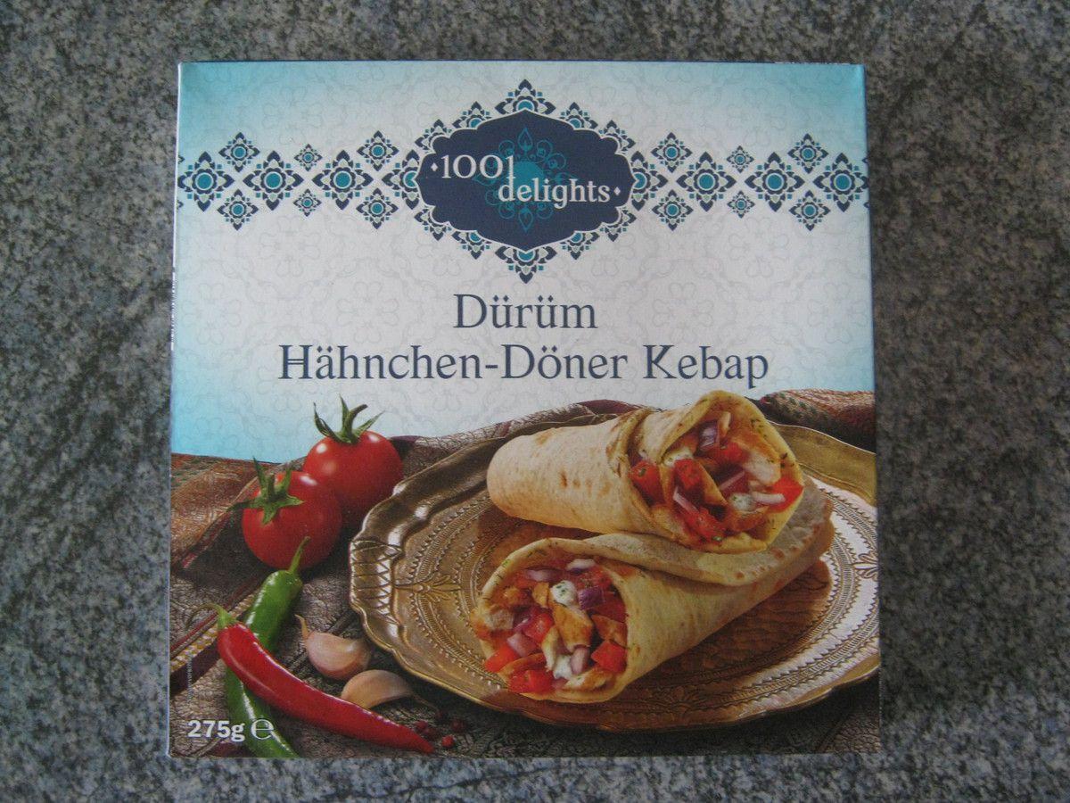 [Lidl] 1001 Delights Dürüm Hähnchen-Döner Kebap
