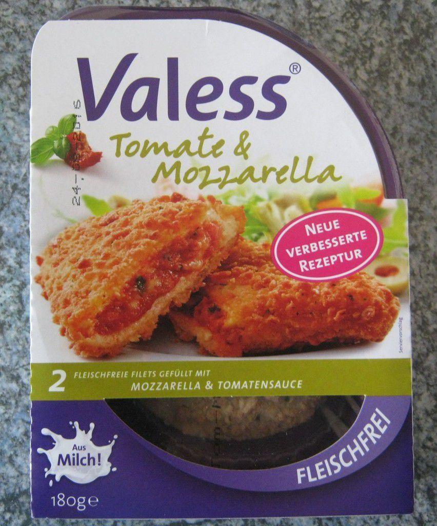 Valess Tomate & Mozzarella - 2 fleischfreie Filets gefüllt mit Mozzarella & Tomatensauce