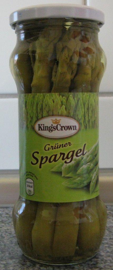 [Aldi Nord] King's Crown Grüner Spargel von Clama