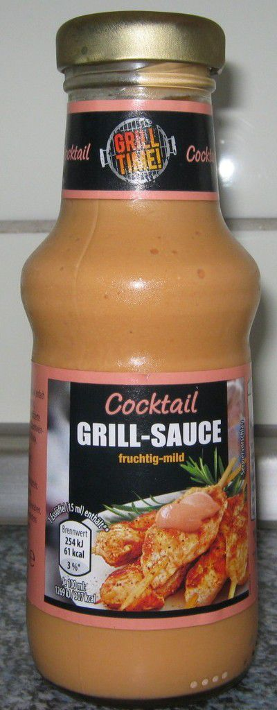 [Aldi Nord] Grill Time Cocktail Grill-Sauce fruchtig-mild