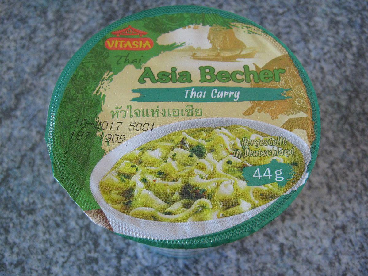 [Lidl] Vitasia Asia Becher Thai Curry (Thai) von Zamek Lebensmittelwerke