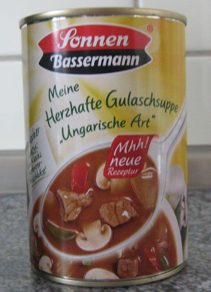 """Sonnen Bassermann Meine Herzhafte Gulaschsuppe """"Ungarische Art"""" mit Rindfleisch"""