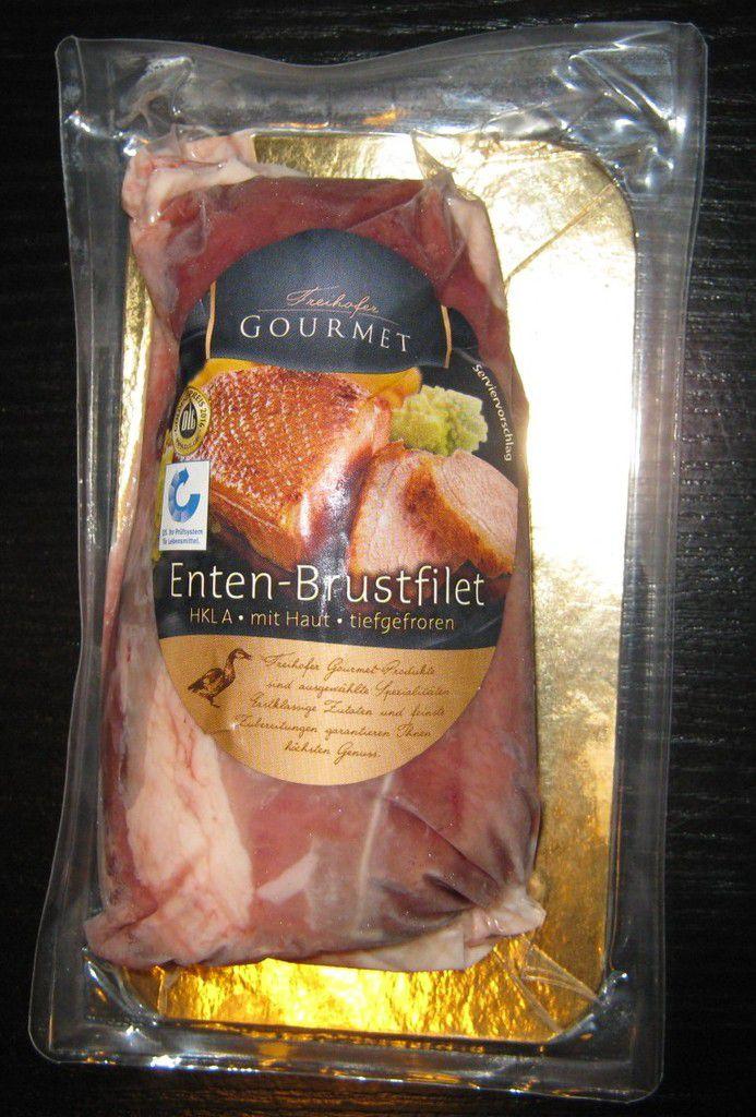 [Aldi Nord] Freihofer Gourmet Enten-Brustfilet von Geka frisch + frost Handels GmbH (Wiesenhof)