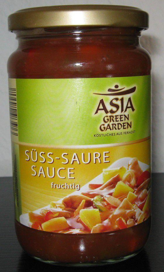 [Aldi Nord] Asia Green Garden Süss-Saure Sauce (Süß) fruchtig von Voss Feinkost (Homann Feinkost)