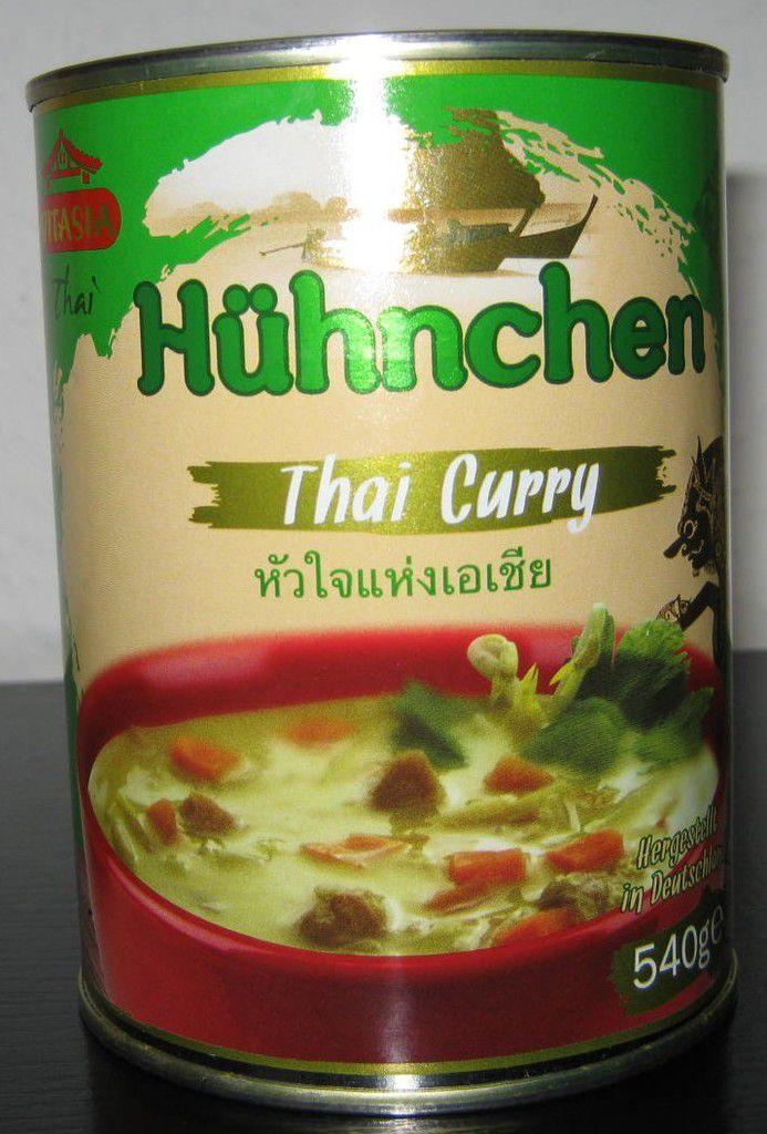 [Lidl] Vitasia Hühnchen Thai Curry (Thai) von Buss Fertiggerichte