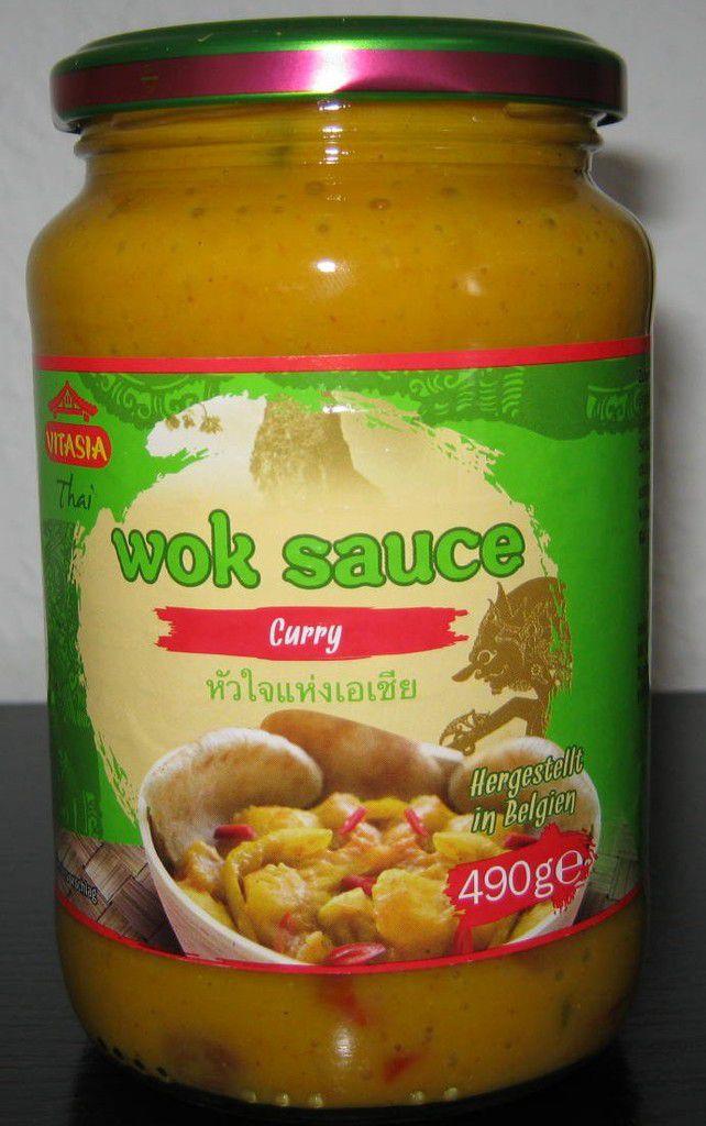 [Lidl] Vitasia Wok Sauce Curry (Thai) von NV. Snack Food Poco-Loco