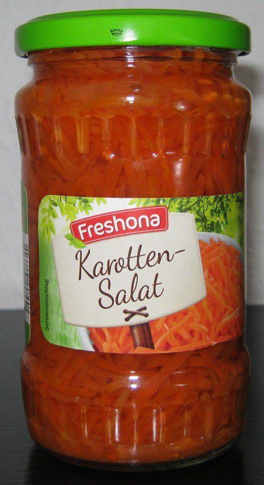 [Lidl] Freshona Karotten-Salat (Karottensalat) von J. & W. Stollenwerk