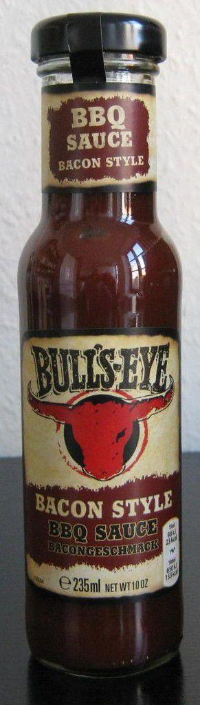 Bull's-Eye Bacon Style BBQ Sauce - Bacongeschmack