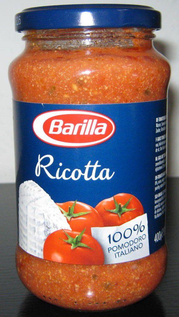 Barilla Ricotta (Tomatensauce mit Ricotta-Käse)