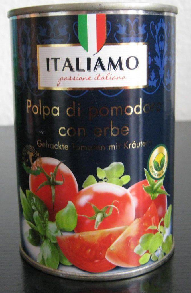 [Lidl] Italiamo Polpa di pomodoro con erbe (Gehackte Tomaten mit Kräutern)